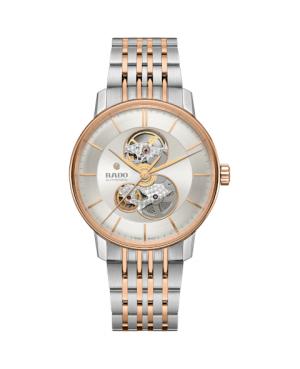 Szwajcarski elegancki zegarek męski RADO Coupole Classic Open Heart Automatic R22894023