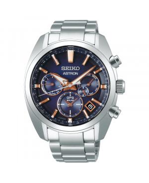 Sportowy zegarek męski SEIKO ASTRON GPS SOLAR SSH049J1