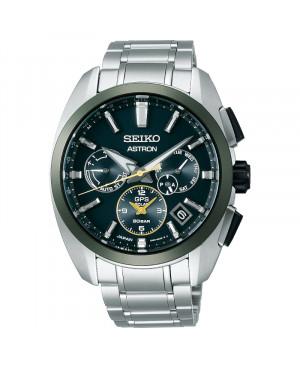Sportowy zegarek męski SEIKO ASTRON GPS SOLAR Green Dial Limited Edition SSH071J1