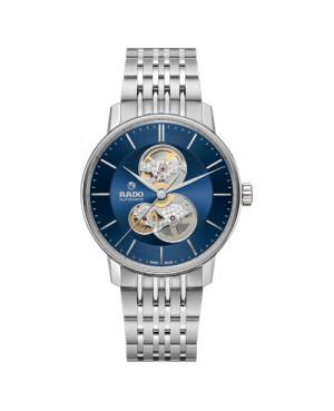 Szwajcarski elegancki zegarek męski RADO Coupole Classic Open Heart Automatic R22894203