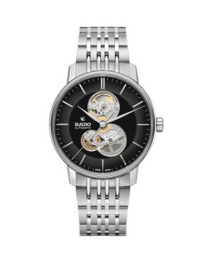 Szwajcarski elegancki zegarek męski RADO Coupole Classic Open Heart Automatic R22894153 Odporne na zarysowania szkło szafirowe