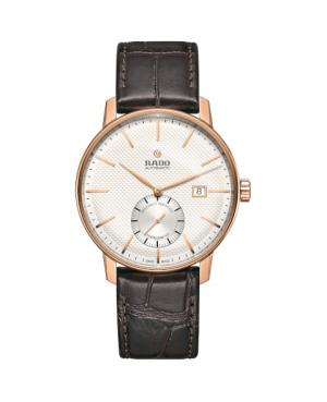 Szwajcarski klasyczny zegarek męski RADO Coupole Classic Automatic COSC R22881025 Odporne na zarysowania szkło szafirowe