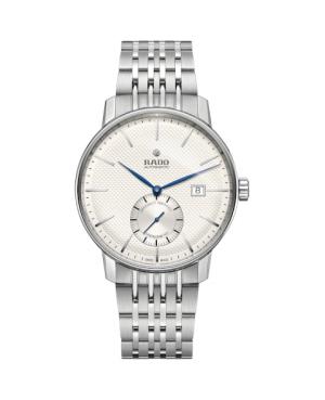 Szwajcarski klasyczny zegarek męski RADO Coupole Classic Automatic COSC R22880013 Odporne na zarysowania szkło szafirowe