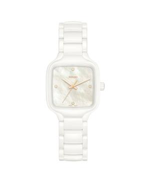 Szwajcarski elegancki zegarek damski RADO True Square Diamonds R27072902