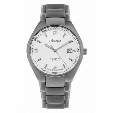 ADRIATICA A1069.4153Q Klasyczny zegarek męski z tytanu