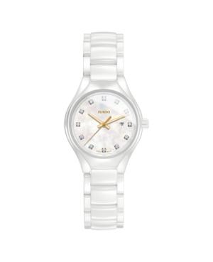 Szwajcarski elegancki zegarek damski RADO True Diamonds R27061902