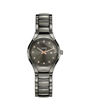 Szwajcarski elegancki zegarek damski RADO True Diamonds R27060732