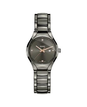 Szwajcarski elegancki zegarek damski RADO True Diamonds R27060712