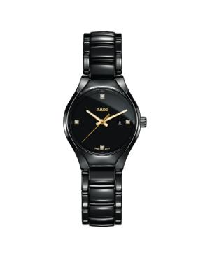 Szwajcarski elegancki zegarek damski RADO True Diamonds R27059712