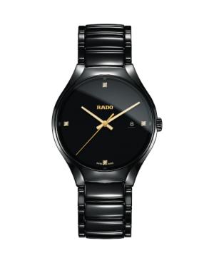 Szwajcarski elegancki zegarek męski RADO True Diamonds R27238712