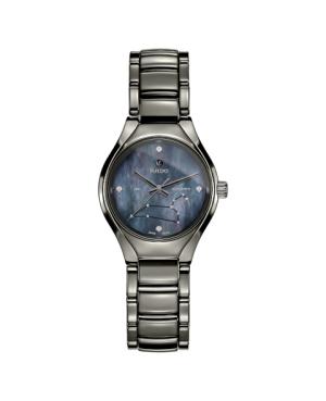Szwajcarski elegancki zegarek damski RADO True Star sign - Leo R27243922
