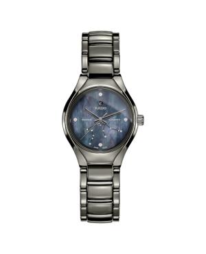 Szwajcarski elegancki zegarek damski RADO True Star sign - Aquarius R27243982