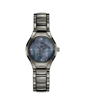 Szwajcarski elegancki zegarek damski RADO True Star sign - Capricorn R27243972