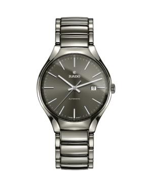 Szwajcarski elegancki zegarek męski RADO True Automatic R27057102