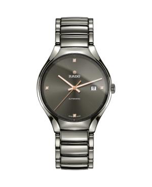 Szwajcarski elegancki zegarek męski RADO True Automatic Diamonds R27057712