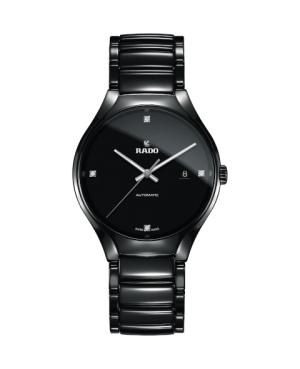 Szwajcarski elegancki zegarek męski RADO True Automatic Diamonds R27056722