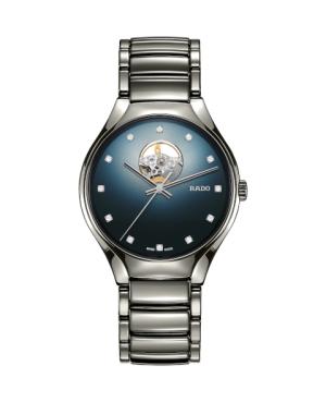 Szwajcarski elegancki zegarek męski RADO True Secret Diamonds R27108732