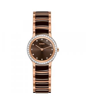 Szwajcarski elegancki zegarek damski RADO Centrix Diamonds R30218702