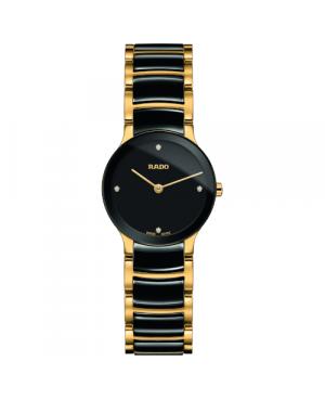 Szwajcarski elegancki zegarek damski RADO Centrix Diamonds R30189712