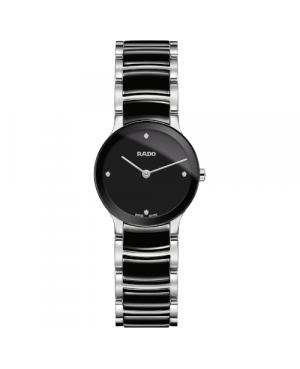 Szwajcarski elegancki zegarek damski RADO Centrix Diamonds R30191712