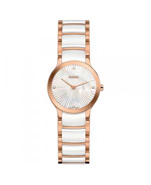 Szwajcarski elegancki zegarek damski RADO Centrix Diamonds R30186902