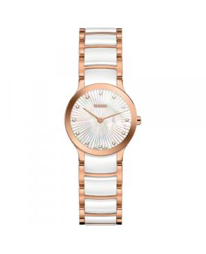 Szwajcarski elegancki zegarek damski RADO Centrix Diamonds R30186912