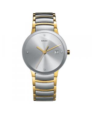 Szwajcarski elegancki zegarek męski RADO Centrix Diamonds R30931713