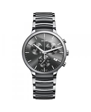 Szwajcarski elegancki zegarek męski RADO Centrix Chronograph R30122122