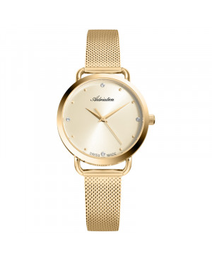 Biżuteryjny zegarek damski ADRIATICA A3730.1141Q (A37301141Q)