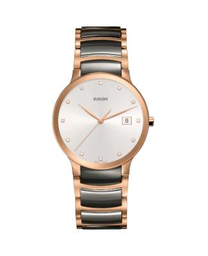 Szwajcarski elegancki zegarek męski RADO Centrix Diamonds R30554762
