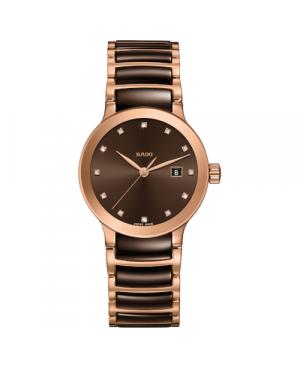 Szwajcarski elegancki zegarek damski RADO Centrix Diamonds R30555724