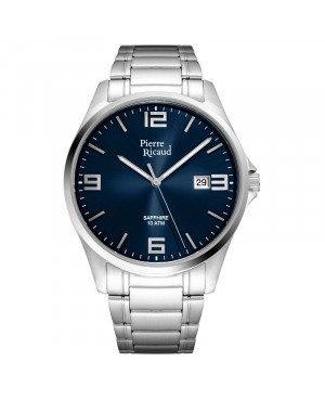 Klasyczny zegarek męski PIERRE RICAUD P91076.5155Q (P910765155Q)