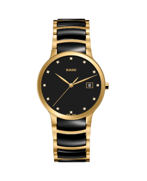 Szwajcarski elegancki zegarek męski RADO Centrix Diamonds R30527762