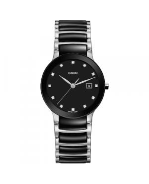 Szwajcarski elegancki zegarek damski RADO Centrix Diamonds R30935752