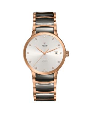 Szwajcarski elegancki zegarek męski RADO Centrix Automatic Diamonds R30036762