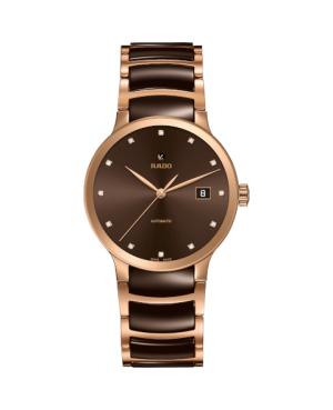 Szwajcarski elegancki zegarek męski RADO Centrix Automatic Diamonds R30036752