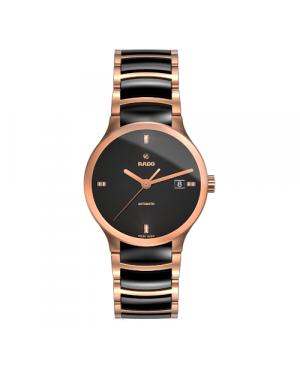 Szwajcarski elegancki zegarek męski RADO Centrix Automatic Diamonds R30036712