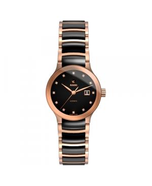Szwajcarski elegancki zegarek damski RADO Centrix Automatic Diamonds R30183732