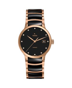 Szwajcarski elegancki zegarek męski RADO Centrix Automatic Diamonds R30036732