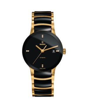 Szwajcarski elegancki zegarek męski RADO Centrix Automatic Diamonds R30035712