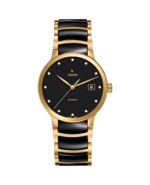Szwajcarski elegancki zegarek męski RADO Centrix Automatic Diamonds R30079762