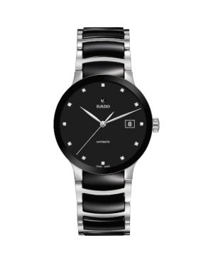 Szwajcarski elegancki zegarek męski RADO Centrix Automatic Diamonds R30941752