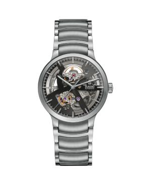 Szwajcarski elegancki zegarek męski RADO Centrix Automatic Open Heart R30179113