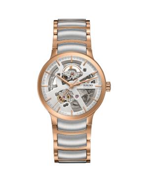 Szwajcarski elegancki zegarek męski RADO Centrix Automatic Open Heart R30181103
