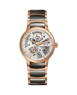 Szwajcarski elegancki zegarek męski RADO Centrix Automatic Open Heart R30181104