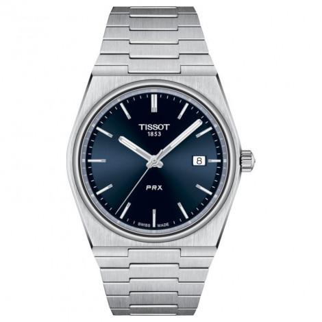 TISSOT T137.410.11.041.00 zegarek męski  klasyczny z szafirowym szkłem szwajcarski kwarcowy na bransolecie do pływania
