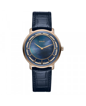 Szwajcarski elegancki zegarek damski RADO DiaMaster Thinline R14071916