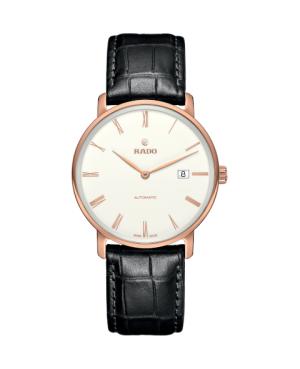 Szwajcarski klasyczny zegarek męski RADO DiaMaster Thinline Automatic R14068016