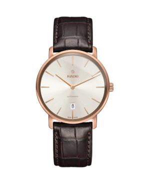 Szwajcarski klasyczny zegarek męski RADO DiaMaster Thinline Automatic R14068026