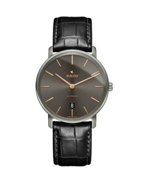 Szwajcarski klasyczny zegarek męski RADO DiaMaster Thinline Automatic R14067156